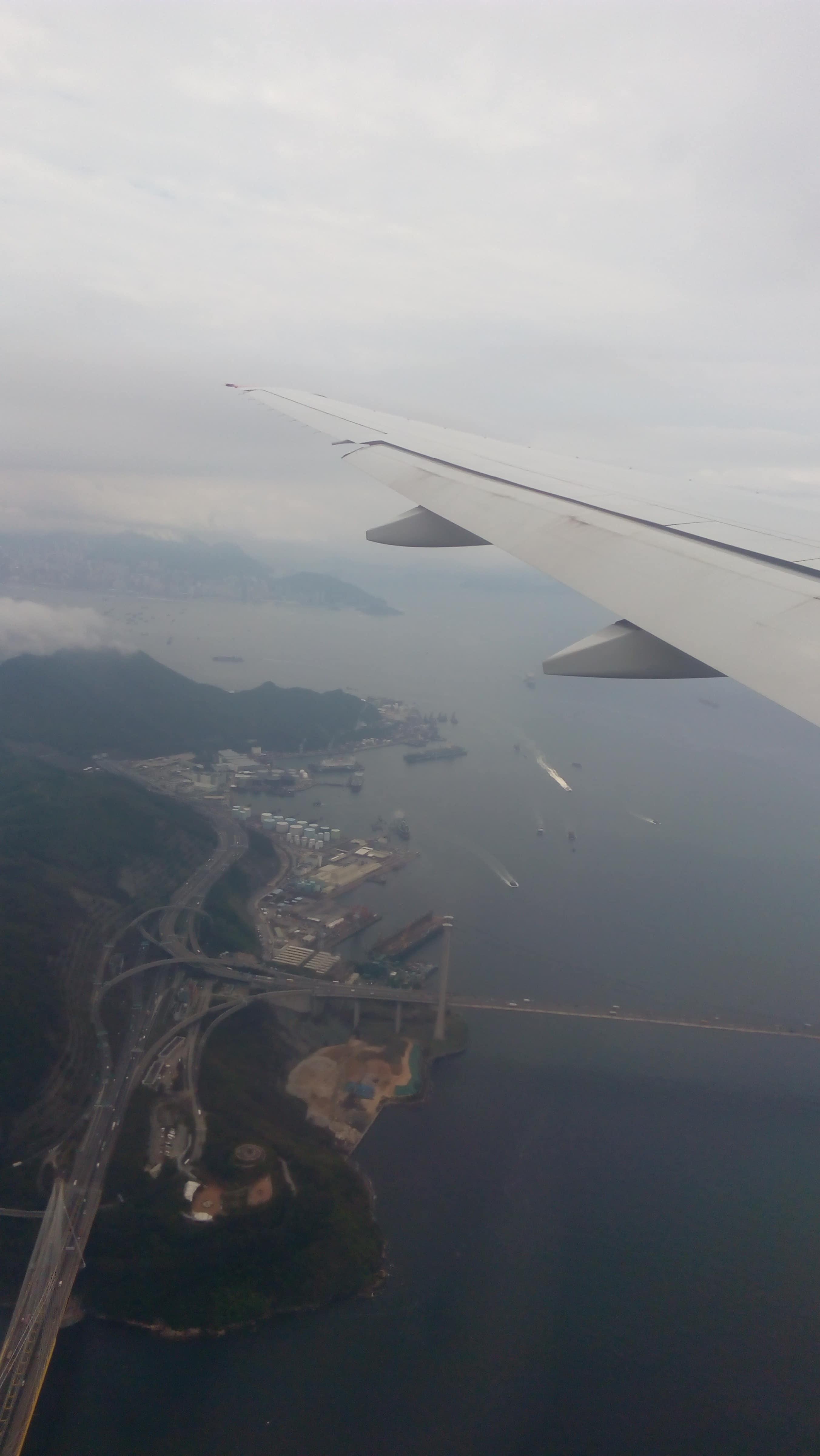 Hong Kong z výšky