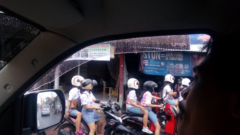 Balijská doprava v spomienkach