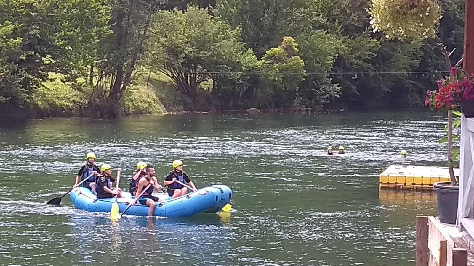 Kaňoning v Chorvátsku a rafting na Vrbase v Bosne