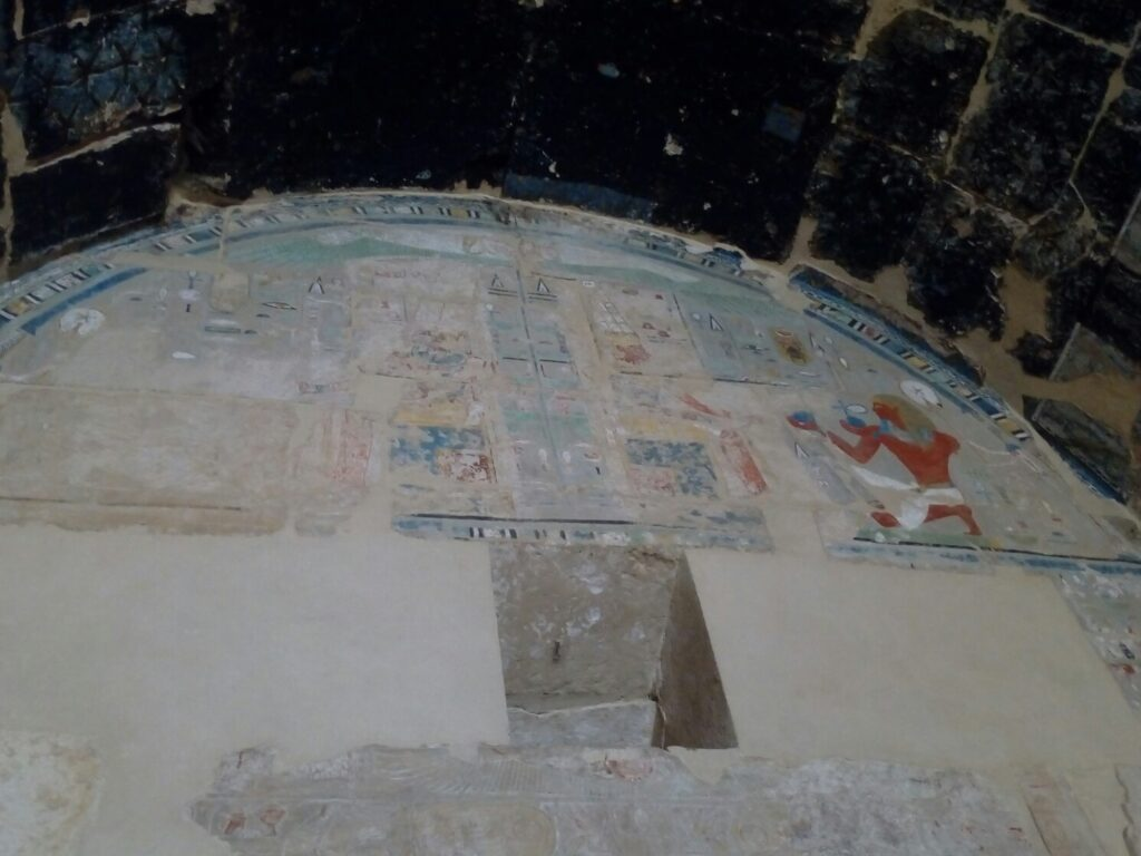 fresky v chrame
