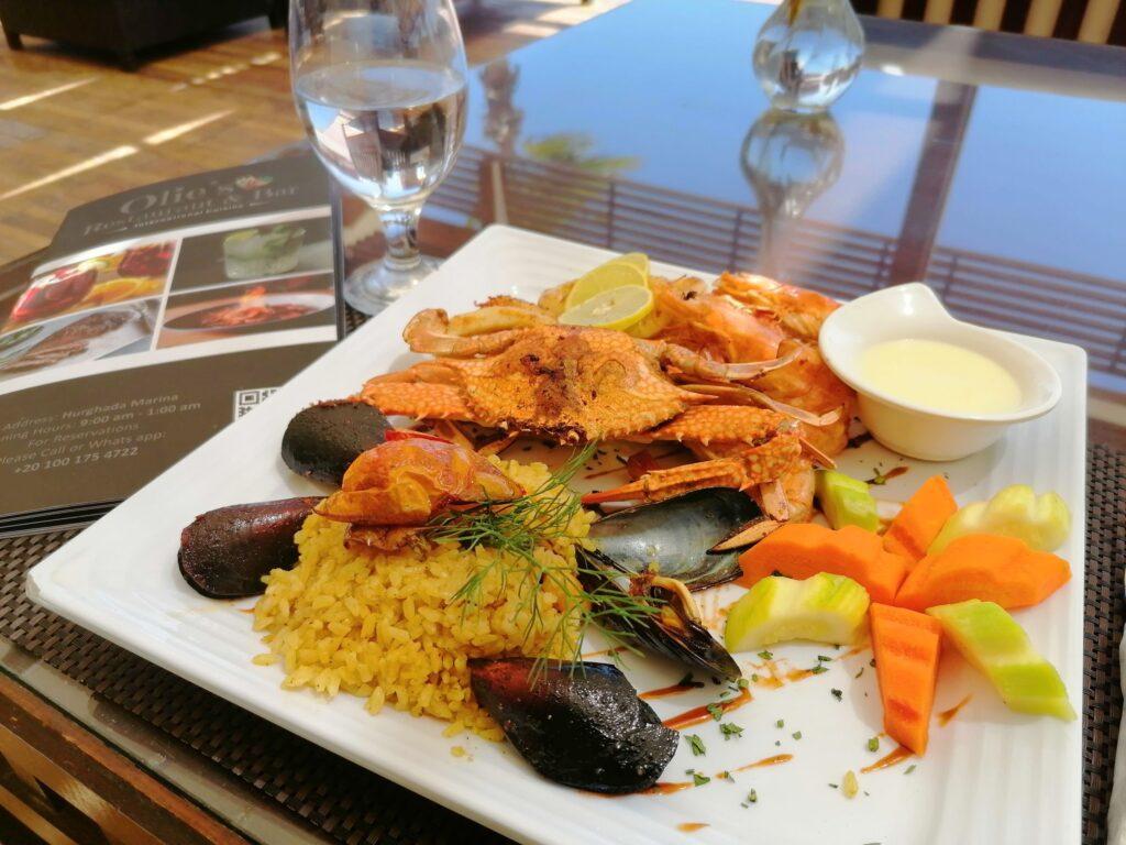 morske plody obed